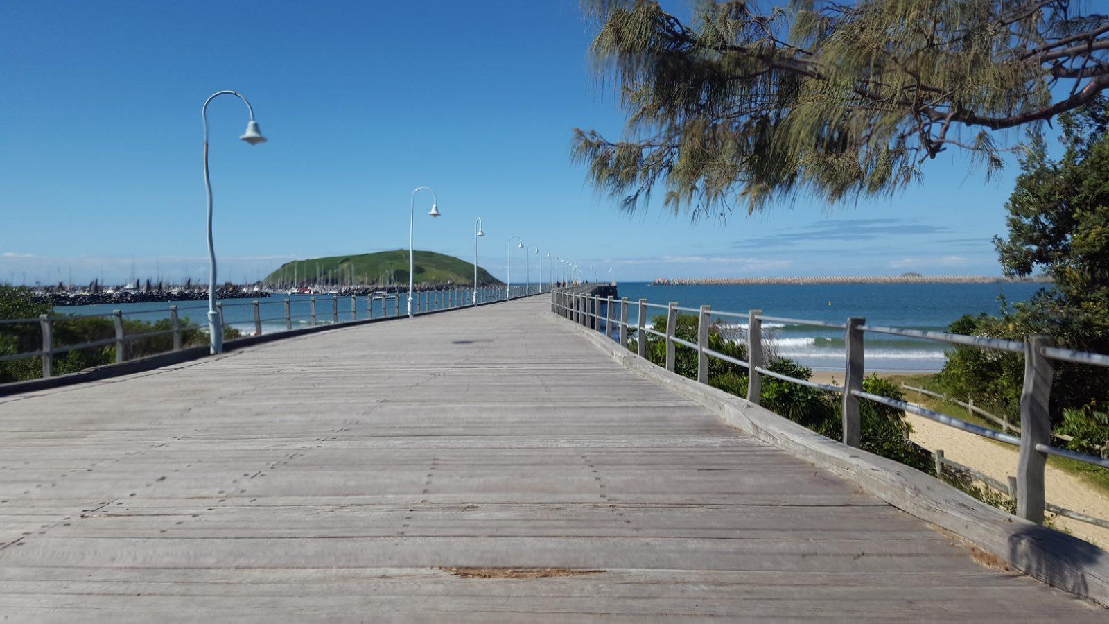Promenade à la marina