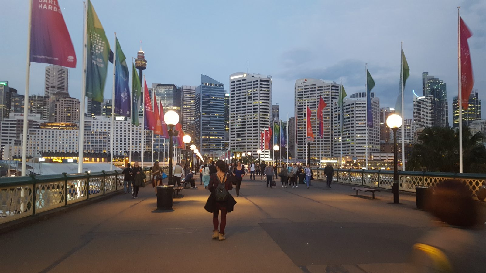 Balade Darling Harbour