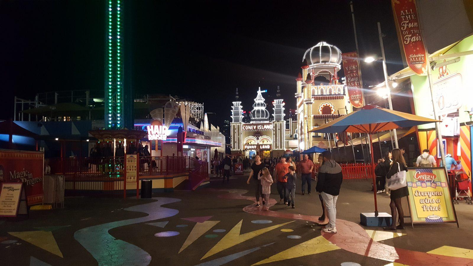 Luna Park nuit