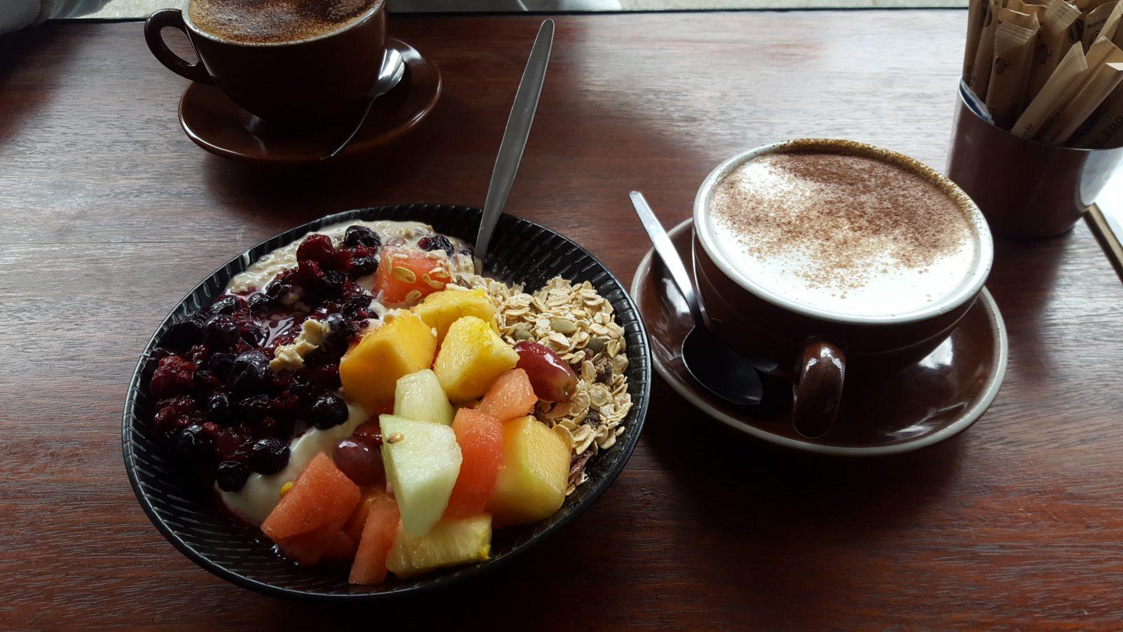 Bondi Beach petit-déjeuner