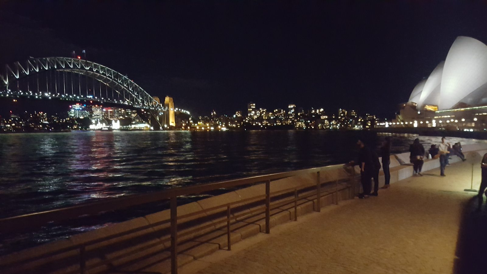 Harbour Bridge Opera House nuit