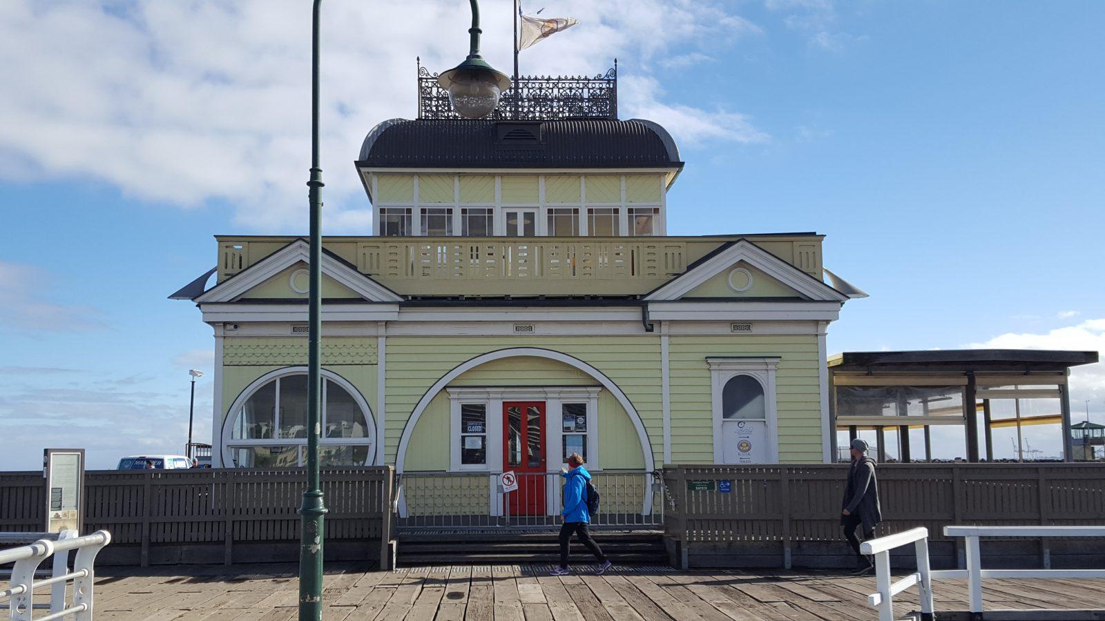 kiosque ponton St kilda