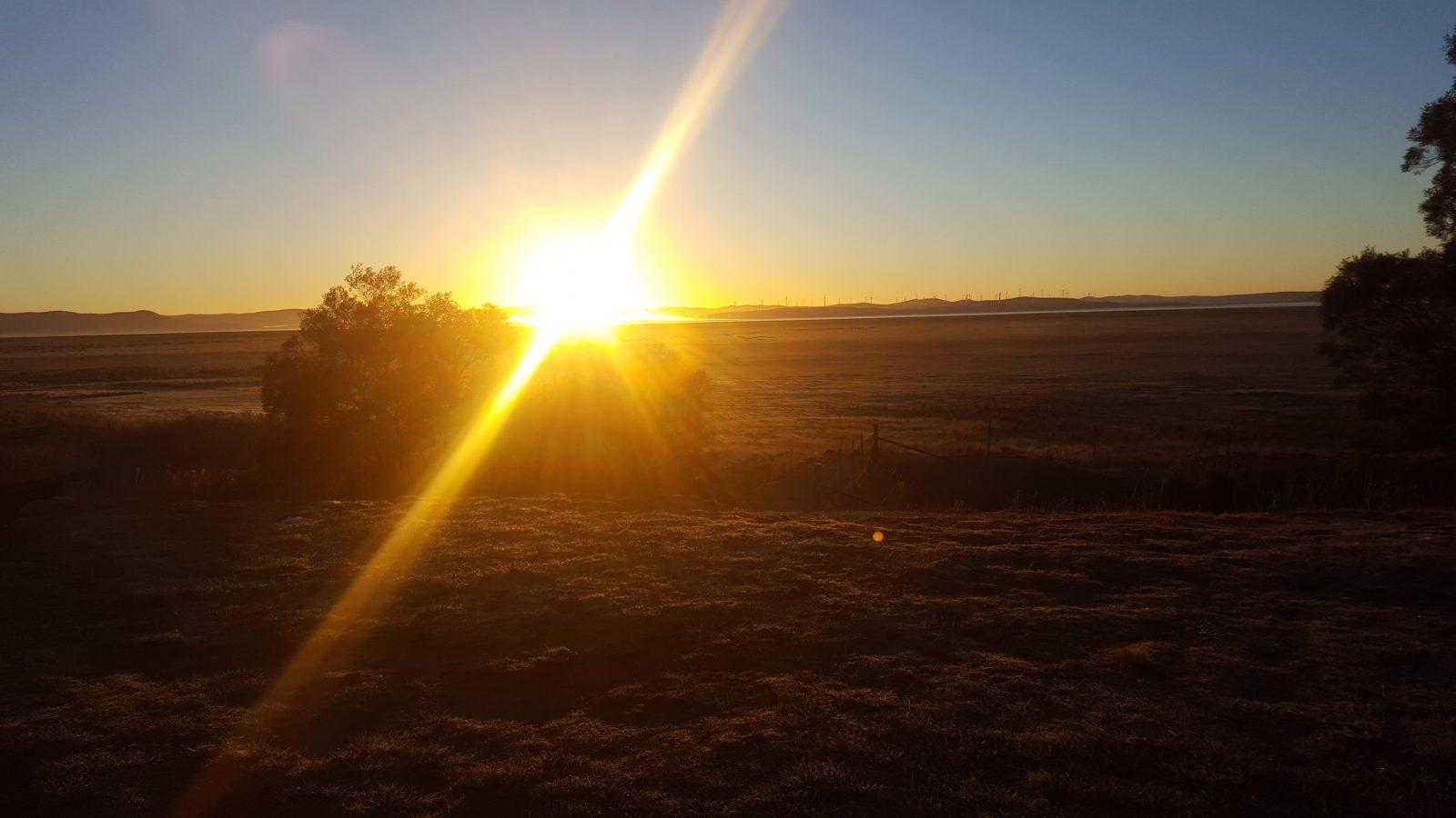 soleil Canberra plaine