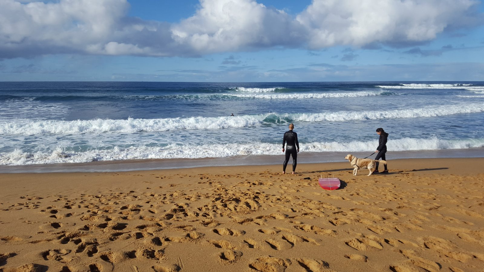 Surfeur Bells Beach