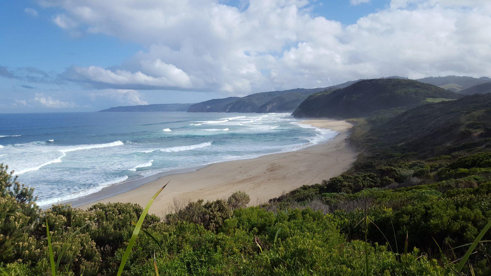 Johanna Beach vagues