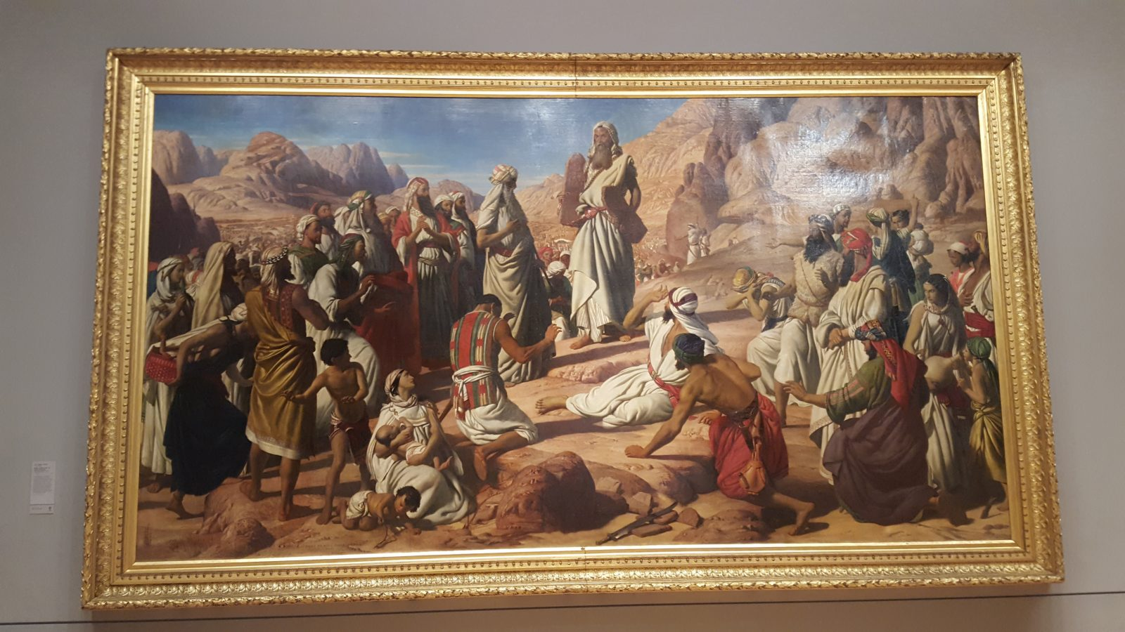 Moïse tables de la loi