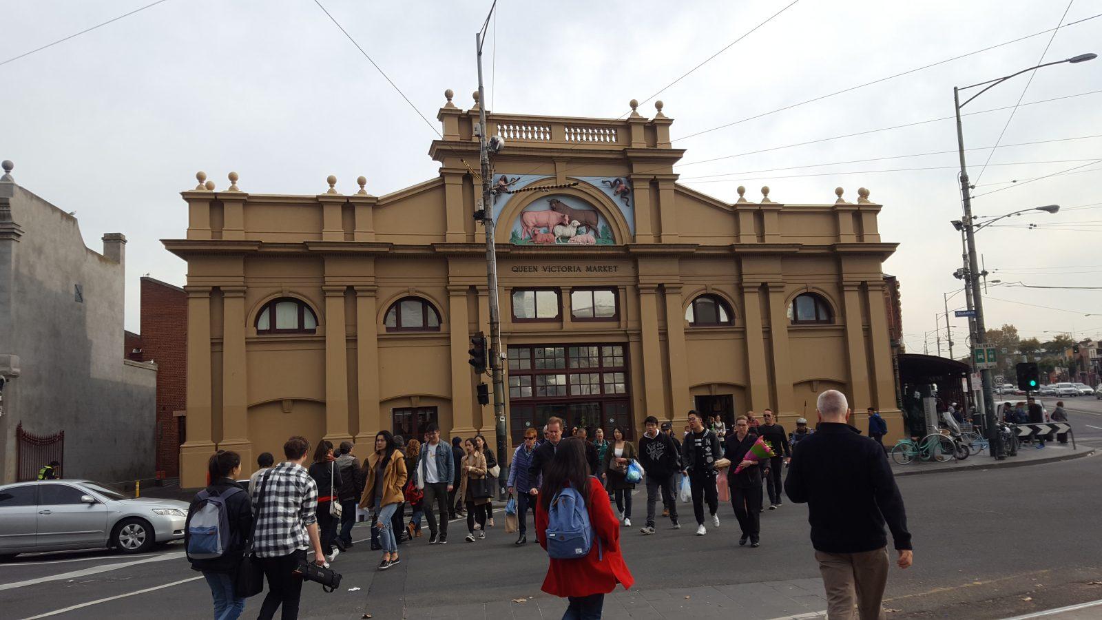 Queen Victoria Market façade