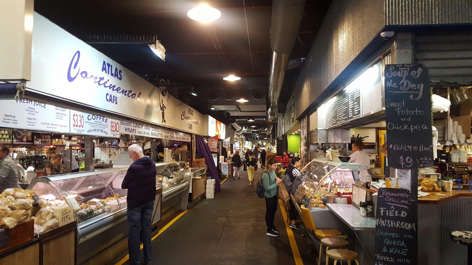 Stands Central Market