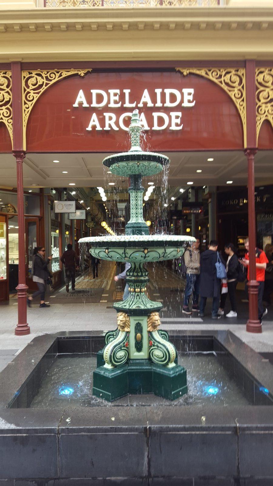 Adelaide Arcade Grenfell Street