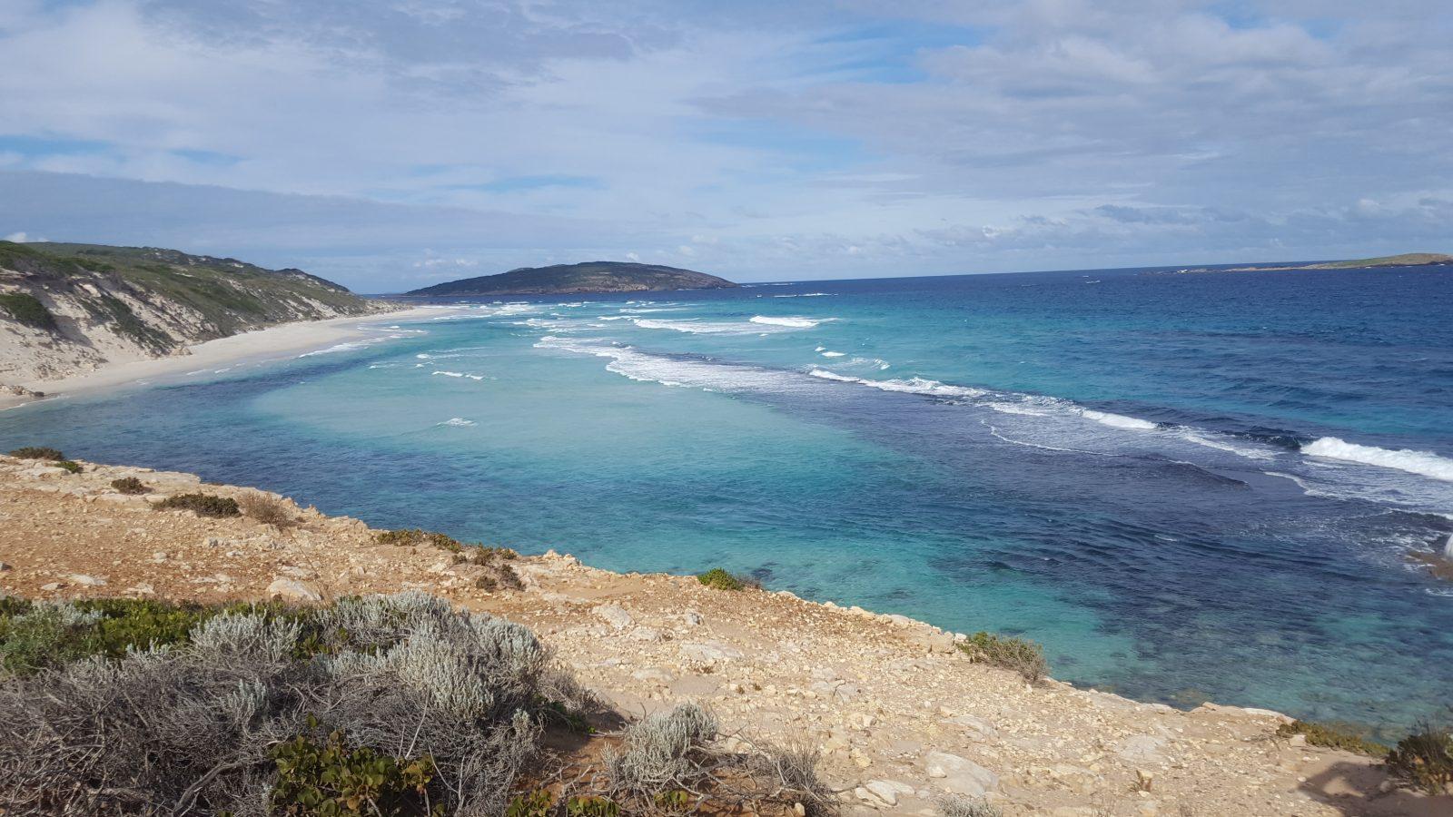 Vue hauteur plage Esperance