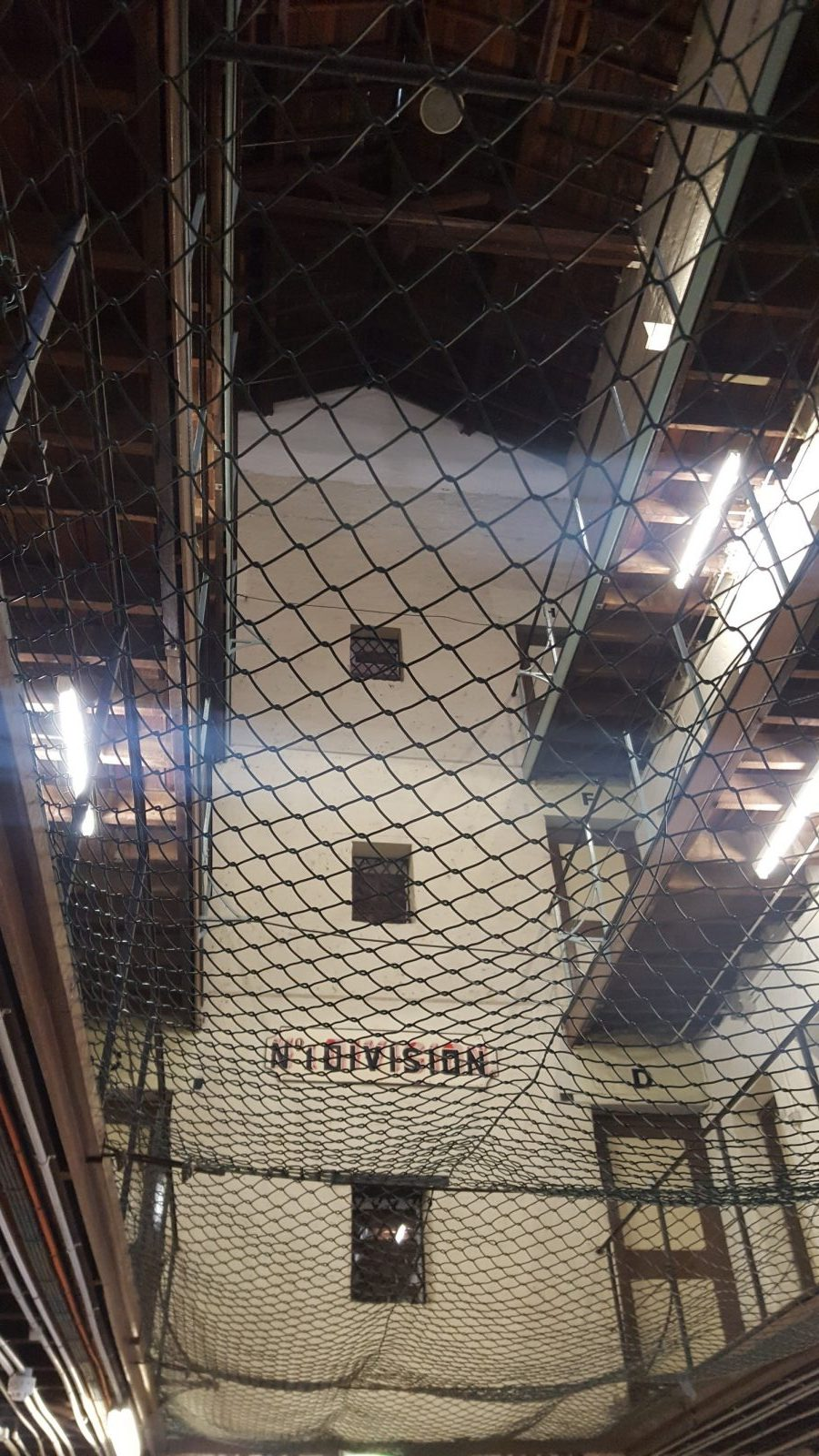 Filet sécurité prison