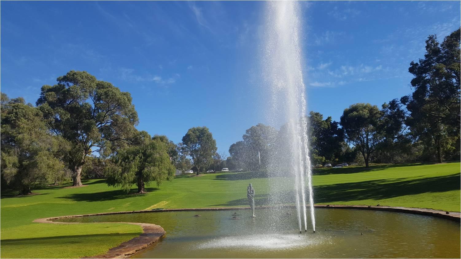 Kings Park jets d'eau
