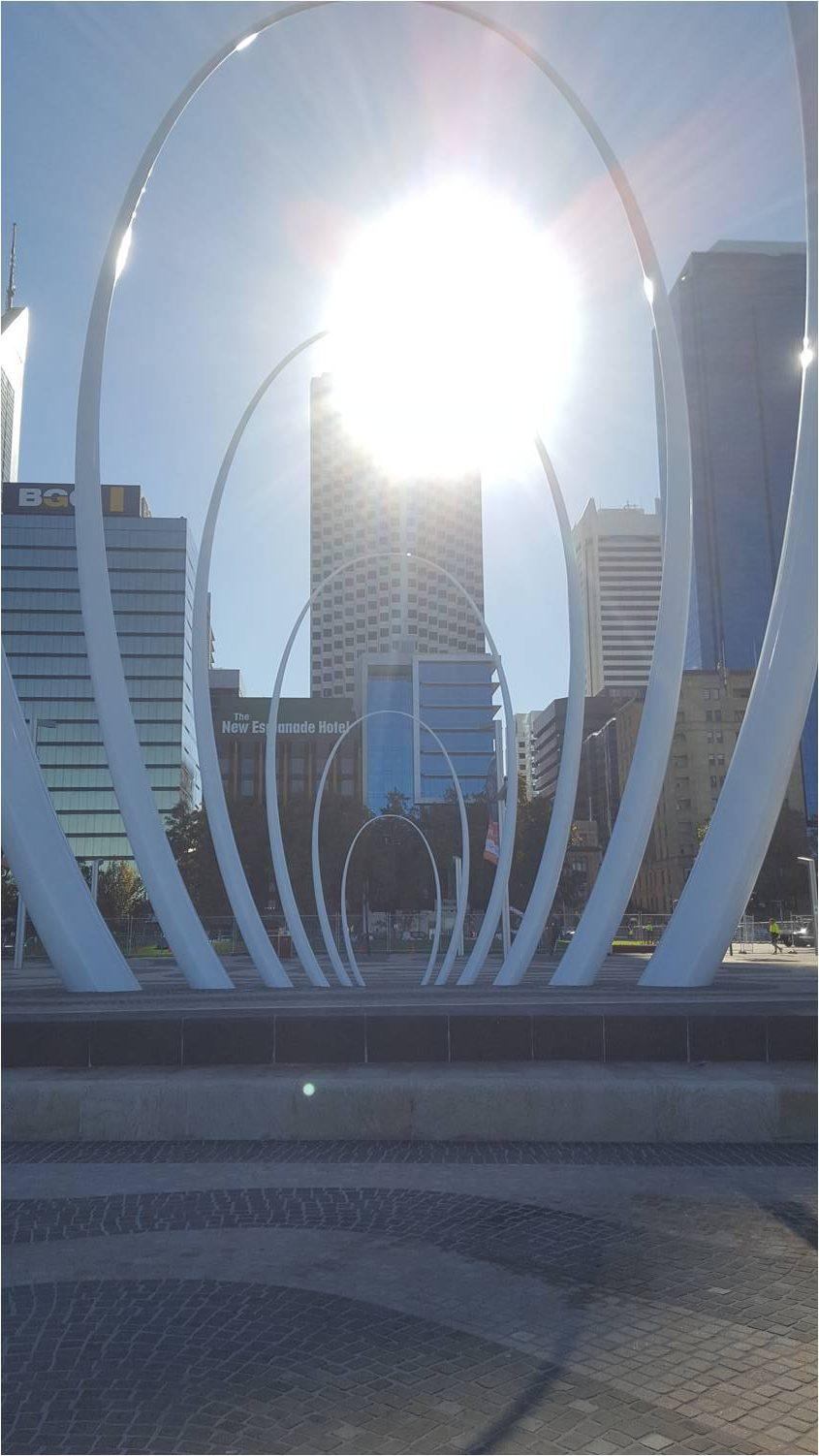 Sculpture Elizabeth Quay