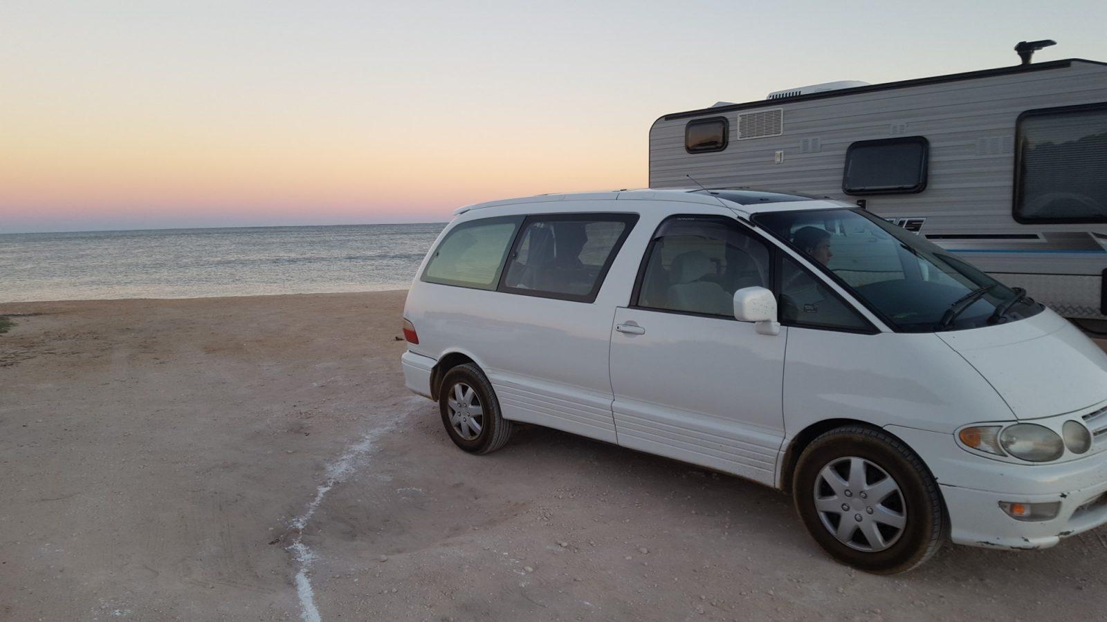 Camping gratuit plage