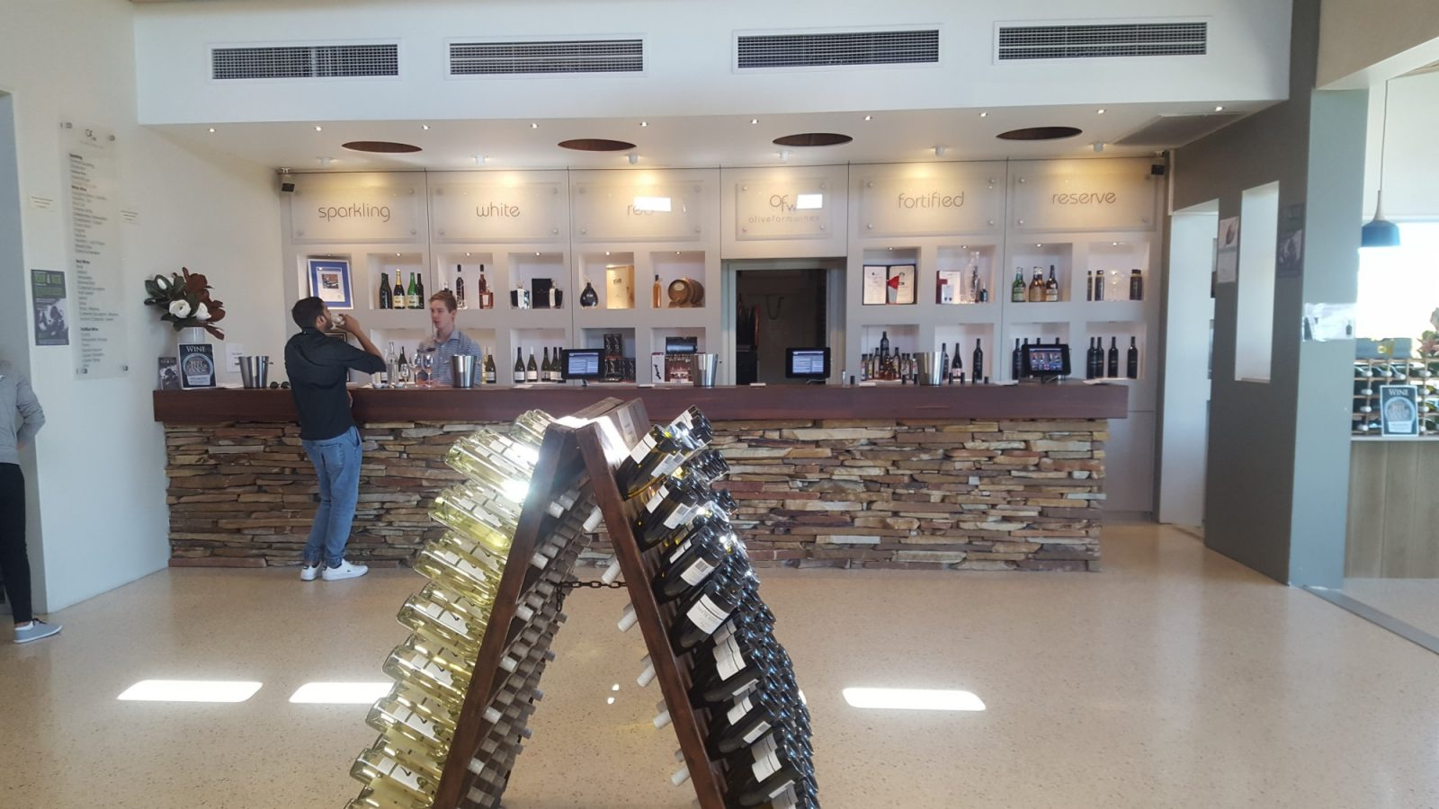 Dégustation vin Swan Valley