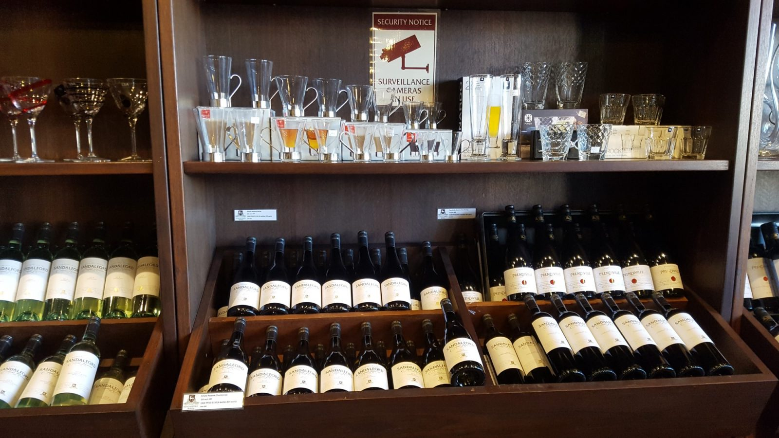 Boutique Sandalford Wines