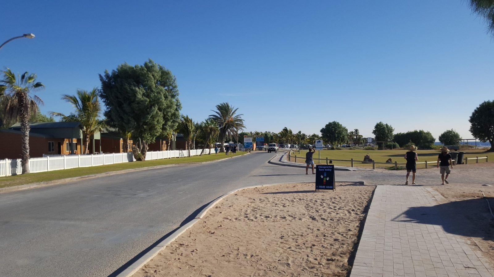 centre-ville Coral Bay