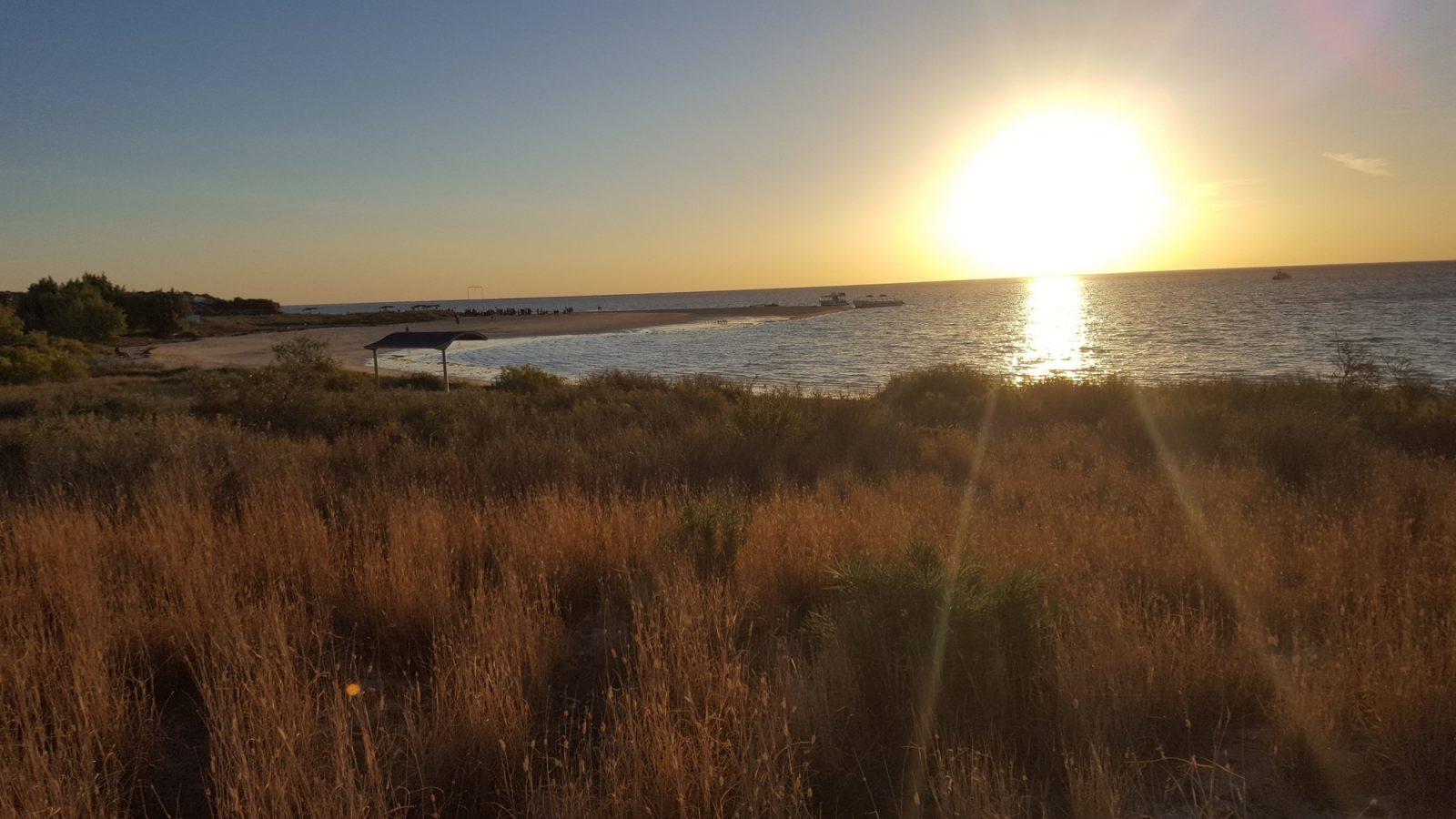 Coral Bay plage soleil
