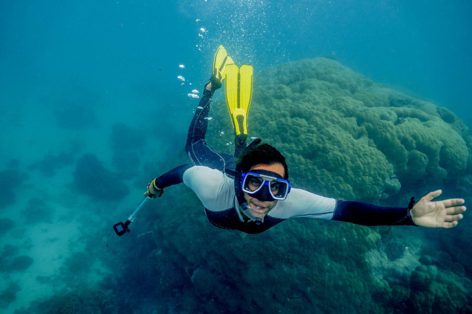 Plongée océan Indien