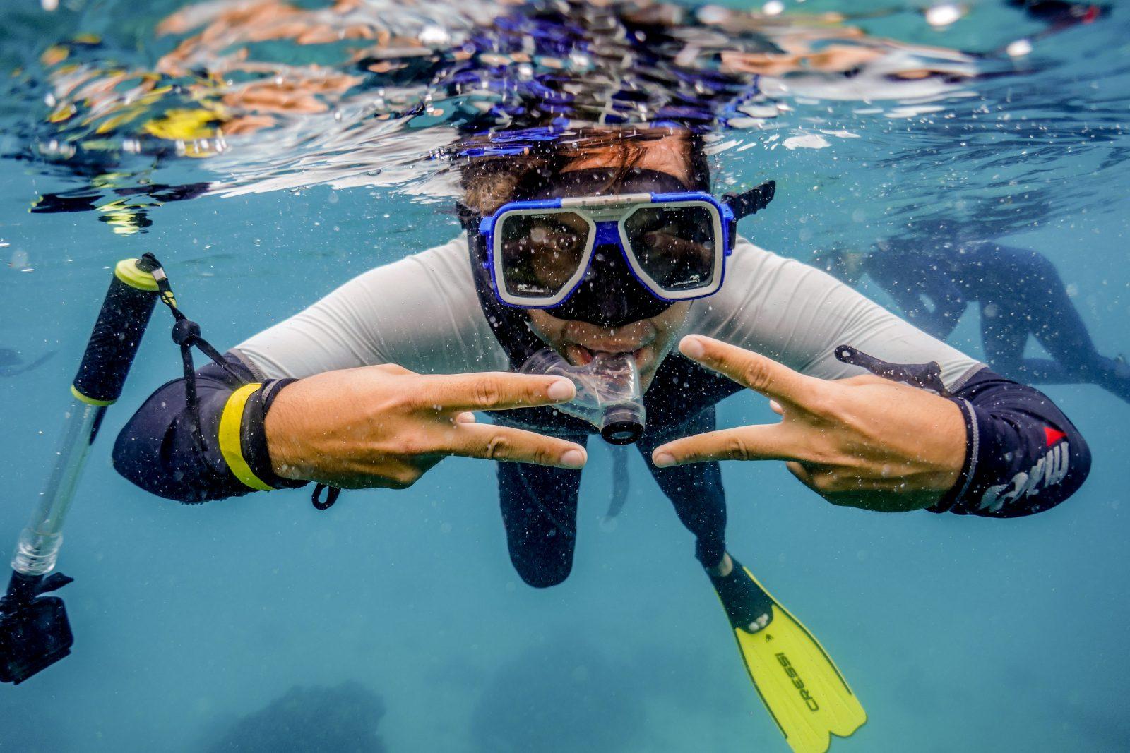 Première plongée Ningaloo Reef