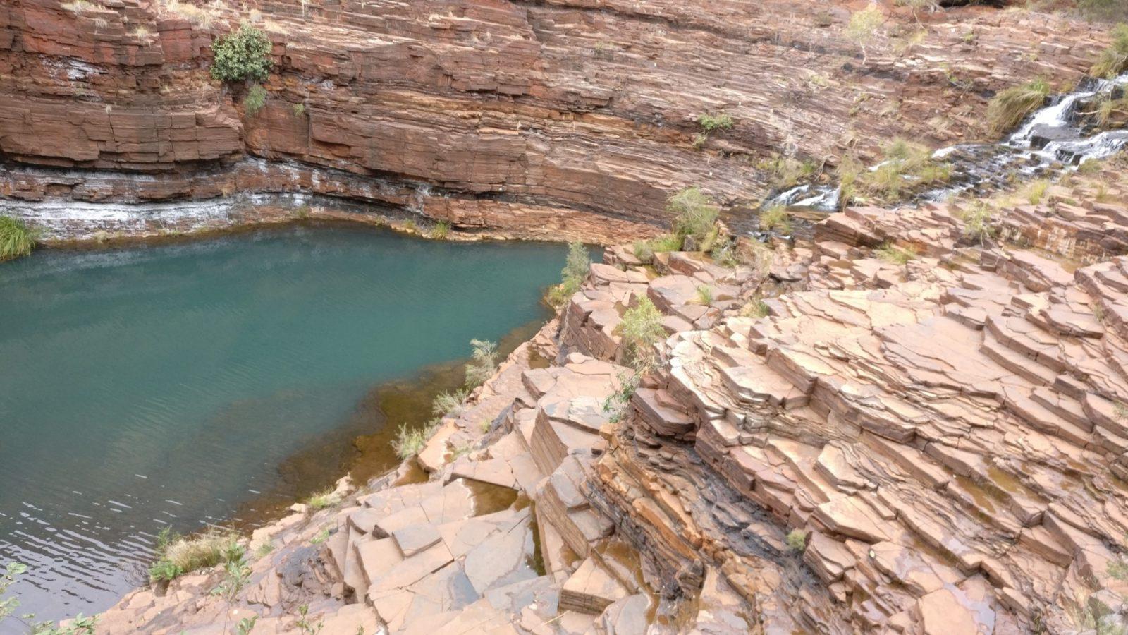 hauteur Fortescue Falls Dales Gorge