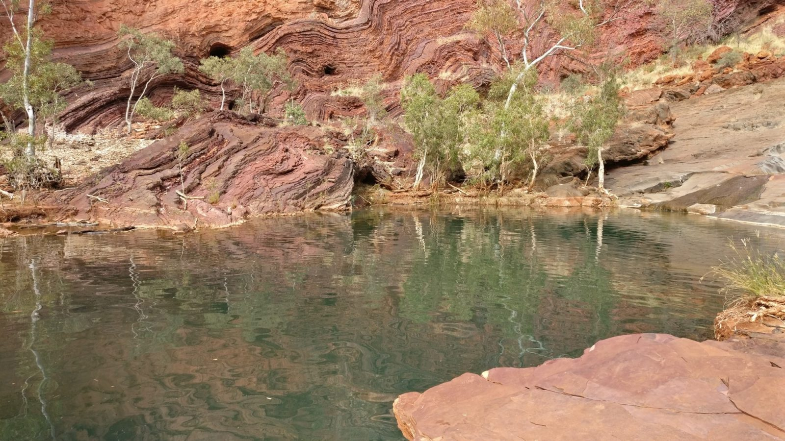 Hamersley Gorge piscine naturelle