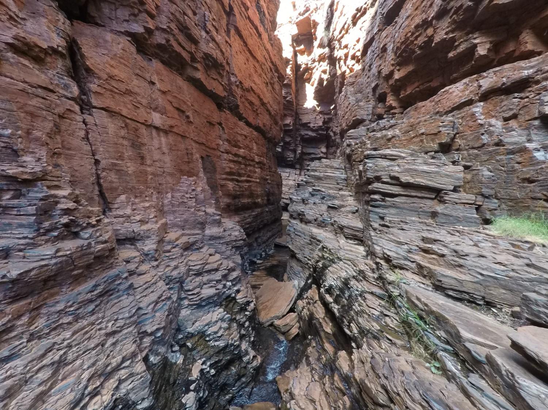 Chemin weano gorge Karijini