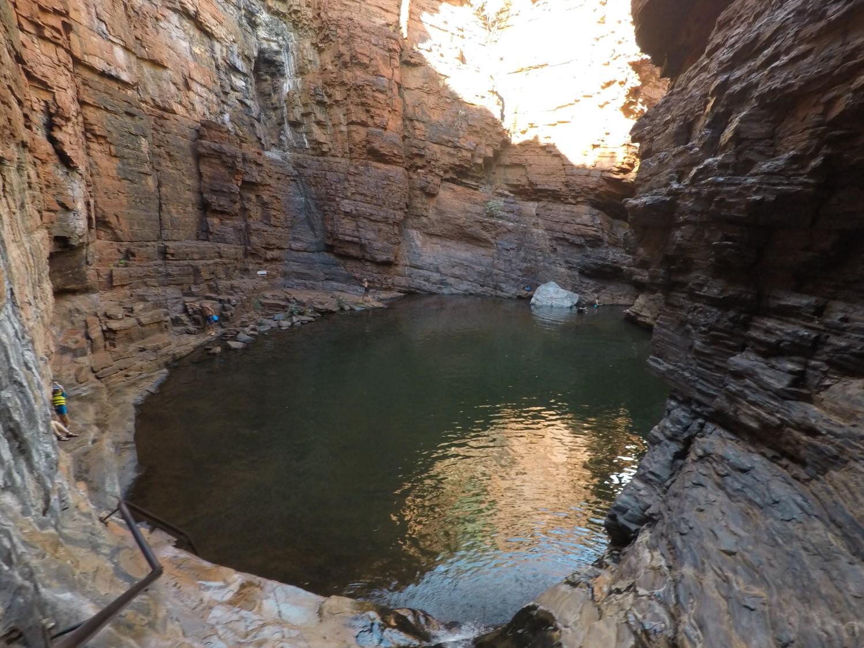 Handrail Pool Weano Gorge