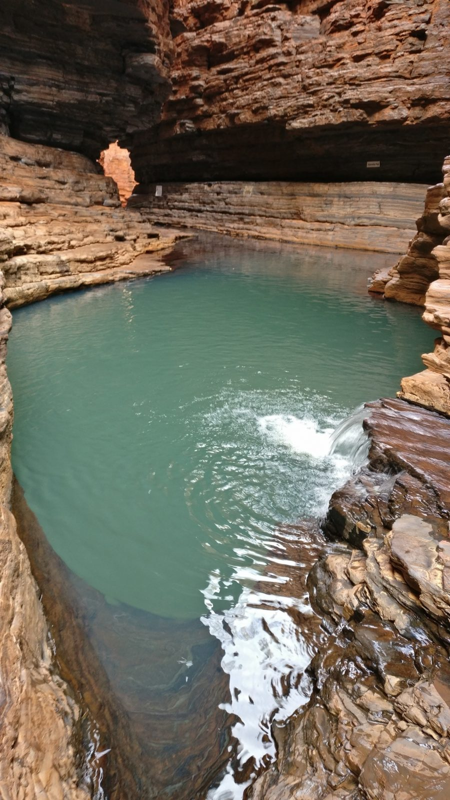 Kermits Pool Hancock Gorge